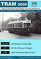 Tram 2000 n°154 - Mai 1995 by Thierry Hamal