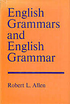 English grammars and English grammar (A…