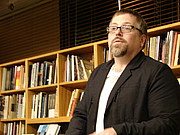 "Author photo. <a href=""http://reading.kingrat.biz/"">Philip Weiss</a>"