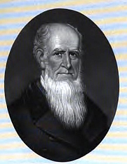 Author photo. Charles Caldwell. Frontispiece from Autobiography of Charles Caldwell, M.D. (1855)