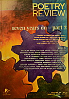 Poetry Review Volume 91 No. 2 Summer 2001…