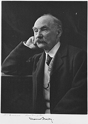Author photo. Thomas Hardy portrait, ca. 1910