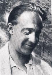 Author photo. Indianist Heinrich Zimmer (1890 - 1943) in 1933