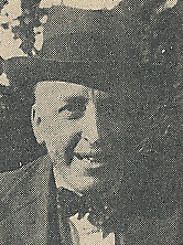 Author photo. Cropped scan of back cover of Penguin No.697 (unattributed image).
