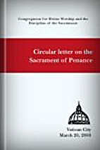 Circular Letter on the Sacrament of Penance…